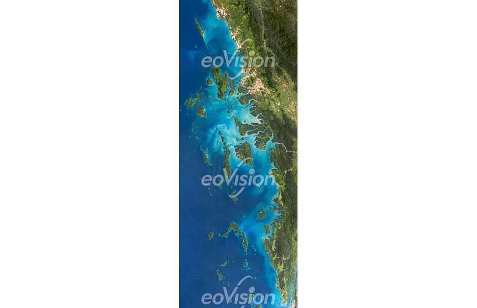 Das Mergui Archipel ist ein Archipel in der nördlichen Andamanensee