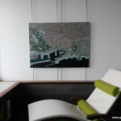 Satellitenbilder als Kunstdrucke