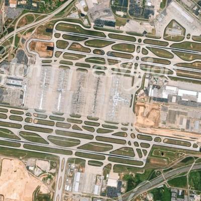 Airport Atlanta - hier werden die weltweit meisten Passagiere abgefertigt