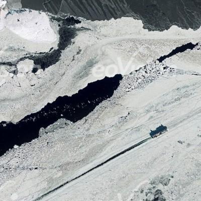 Eisbrecher in der Ostsee