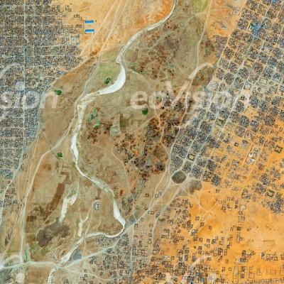 ElFasher - Siedlung und Flüchtlingslager