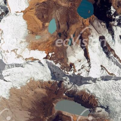 Alpamajo - höchster Abschnitt der Anden