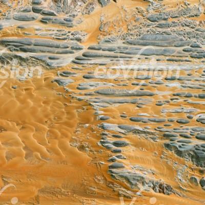 Jabal Tarif - rundgeschliffene Felsen nahe der Oase Kharga