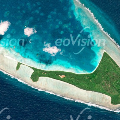 Egmont Island - Atoll im Chagos-Archipel im Indischen Ozean