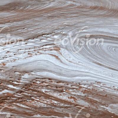 Youshashan - Sedimentgesteinsschichten