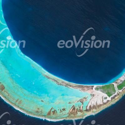 Hiti Island - Atoll des Tuamotu-Archipel