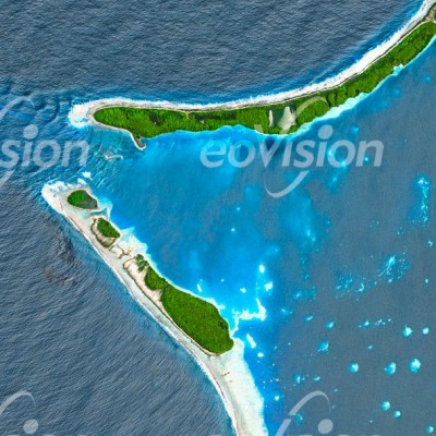 Tongareva - Atoll der Cookinseln im Südpazifik