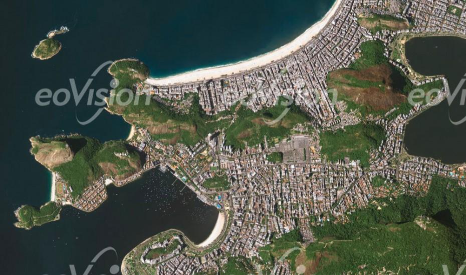 Rio de Janeiro - Granithügel prägen das Stadtbild