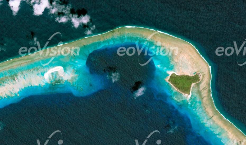 Bikini Atoll - im Pazifischen Ozean