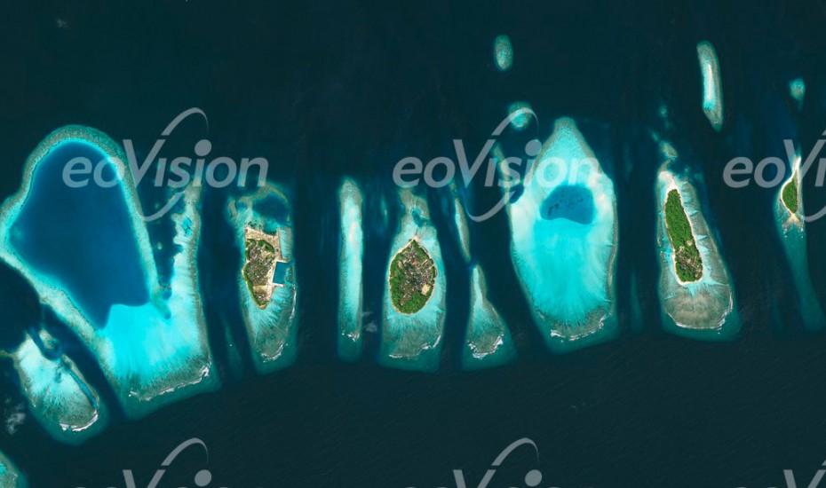 Malediven -Iindischer Ozean