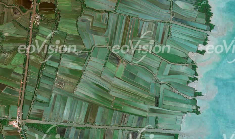 Thailand - Schwemmland ideal für Reisanbau