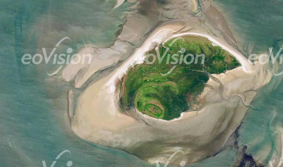 Mellum Wattkueste - Nationalpark Wattenmeer