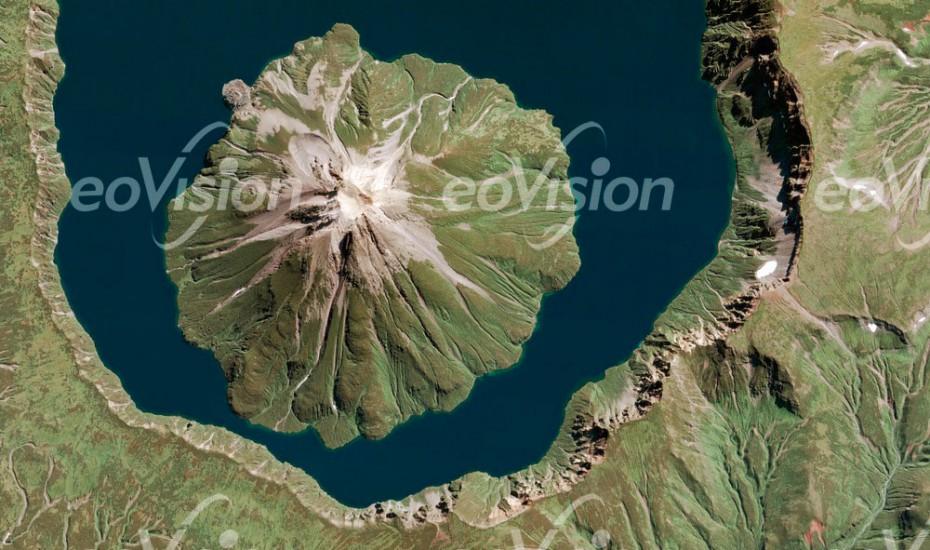 Onekotan - Vulkan Kurilen
