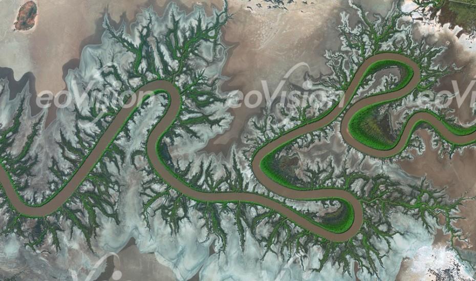 Ord River Delta - viele Vogelarten und Salzwasserkrokodile