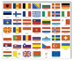 Flaggen Europas
