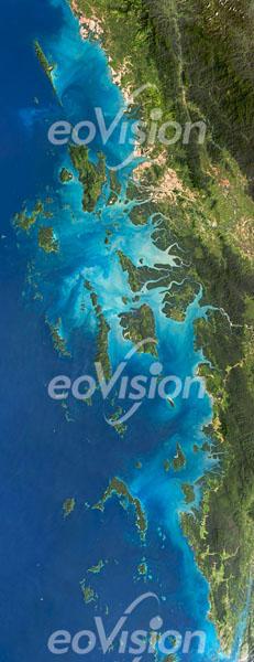 Mergui-Archipel - in der nördlichen Andamanensee