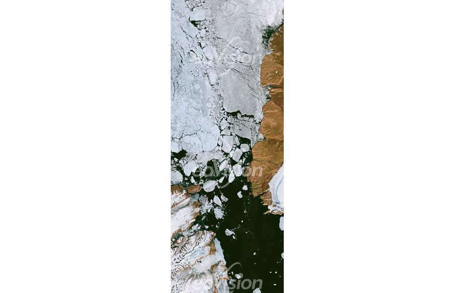 Nares Straße bei Grönland