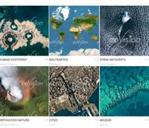 Human Footprint, Weltkarten, Terra Incognita, Untouched Nature, Cities, Wasser
