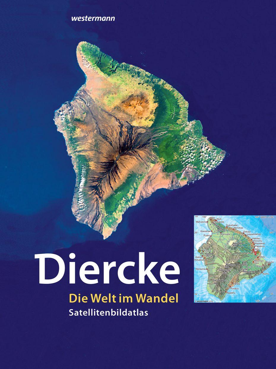 """Cover des Satellitenbild-Atlas """"DIERCKE - Die Welt im Wandel"""""""