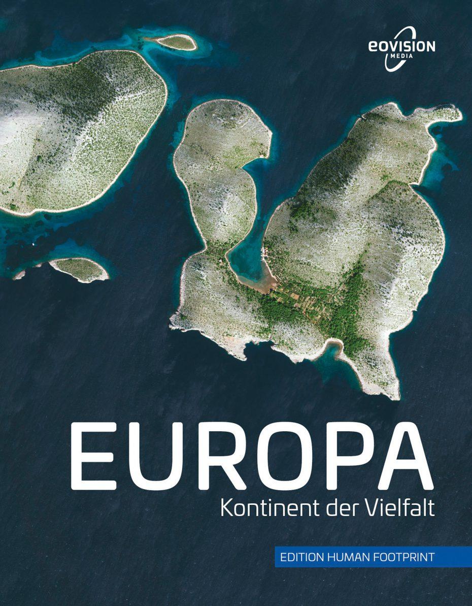 """Cover des Bildbandes """"EUROPA - Kontinent der Vielfalt"""""""