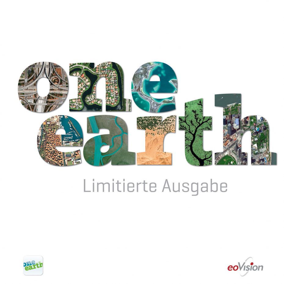 "Cover des Bildbandes ""ONE EARTH - Limitierte Ausgabe"""