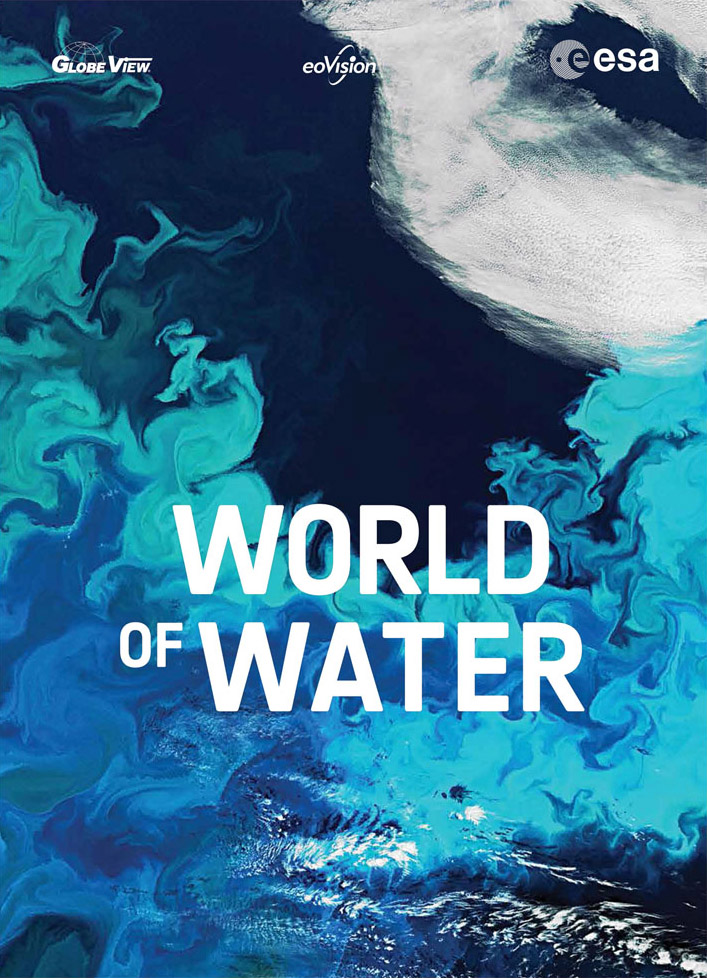 "Cover des Satellitenbild-Atlas ""World of Water"""