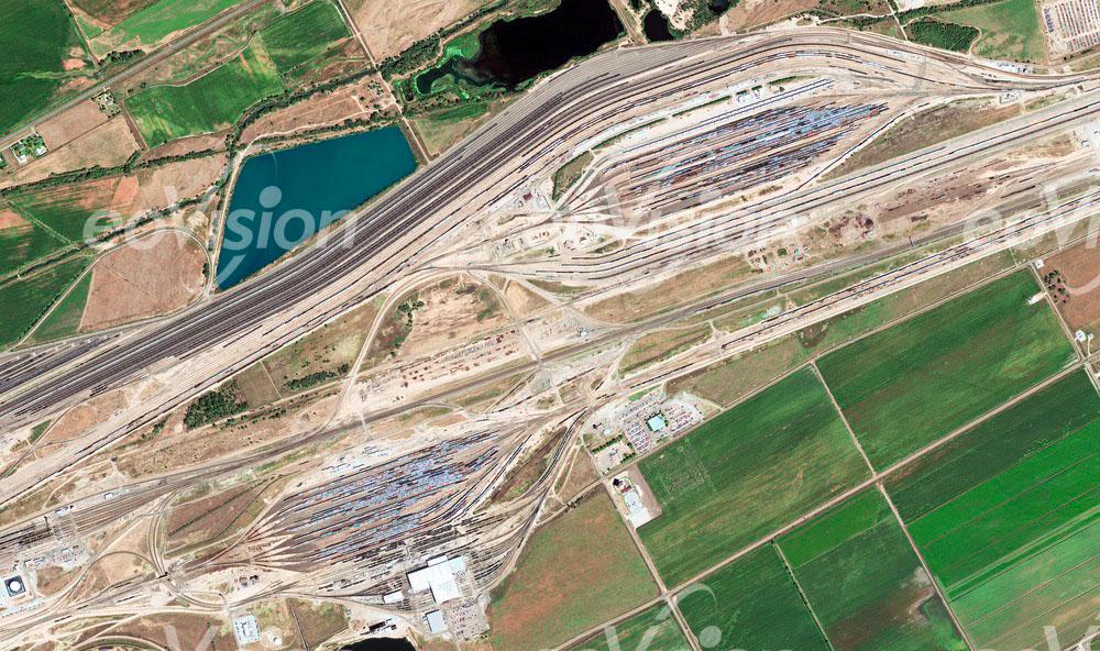 Bailey Yard - der weltweit größte Rangierbahnhof