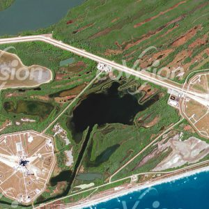 Cape Canaveral - Raketenstartrampen mit den Starttürmen