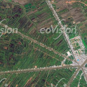 Dorfstruktur Mekongdelta