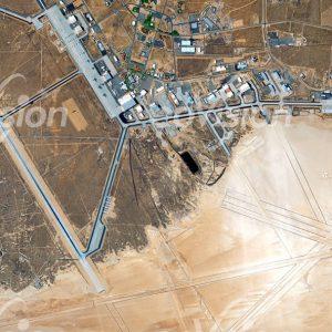 Edward Airbase - Landebahn des Space Shuttle
