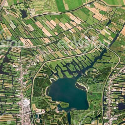 Grachten - Polderlandschaft im Norden von Amsterdam