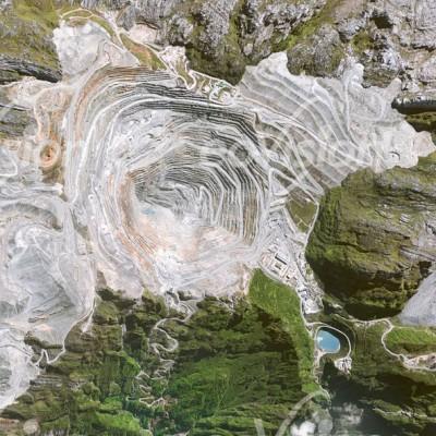 Grasbergmine - Abbau von Gold- und Kupfervorkommen