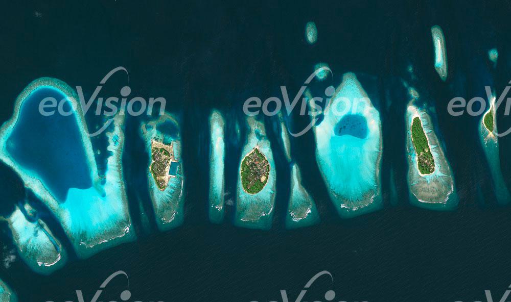 Malediven - im indischen Ozean
