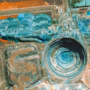 OrapaMine - flächenmäßig größte Diamantenmine der Welt,