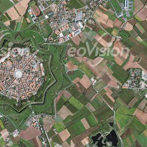 Palmanova - sternförmige Struktur des 16. Jahrhunderts