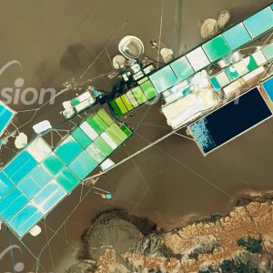 Der Salzsee Salar de Atacama beherbergt etwa 40% der weltweiten Vorkommen von Lithium