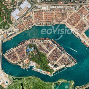 Singapur - weltgrößter Containerhafen