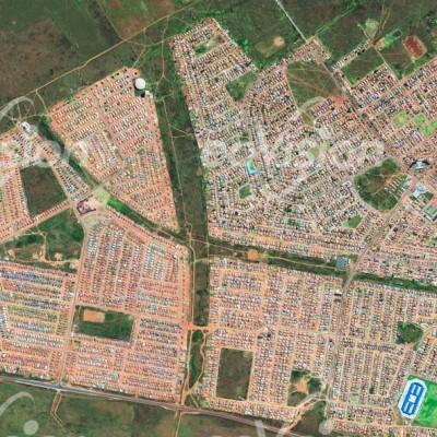 Soweto - große soziale Gegensätze