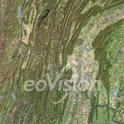 Appalachen - bewaldetes Mittelgebirge im Osten Nordamerikas