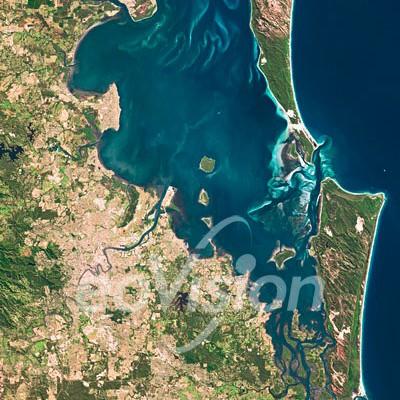 Brisbane - Hauptstadt des Bundesstaates Queensland im Nordosten Australien