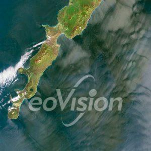 Iturup-Kurilen - Vulkaninsel