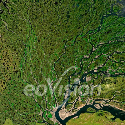 Lenadelta - gehört zu den größten Flussdeltas der Erde