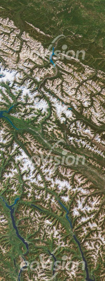 Rocky Mountains - Faltengebirge Nordamerikas