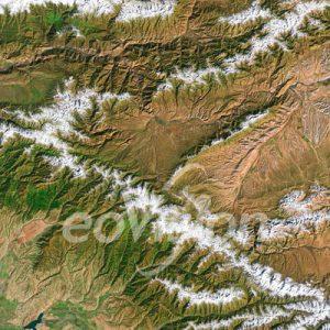 TianShan - Hochgebirge in Turkestan.