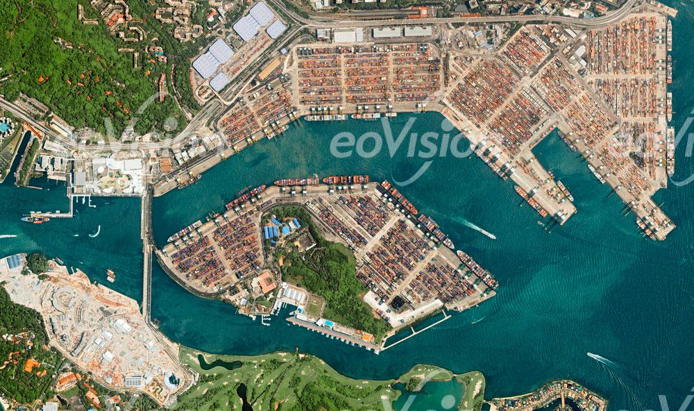 Singapur - Containerhafen