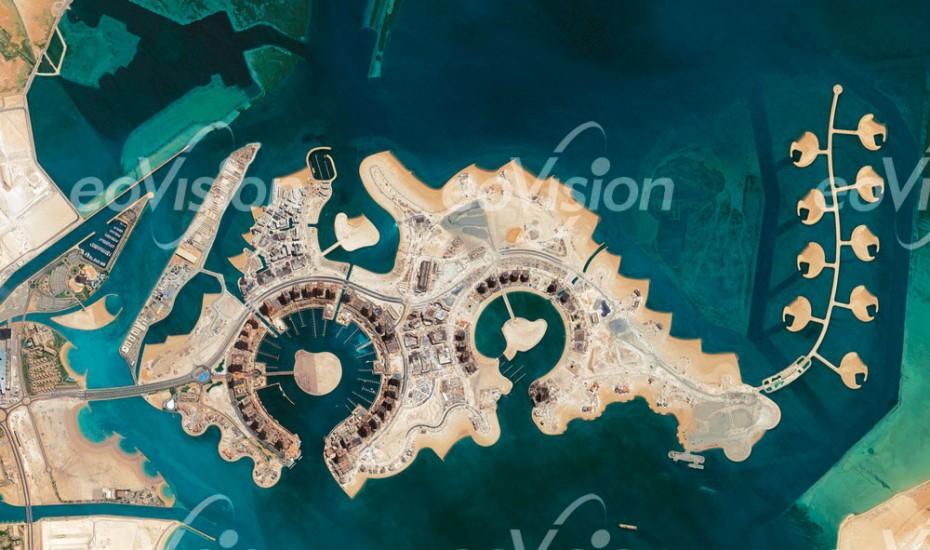 The Pearl - künstlich angelegte Insel in Katar