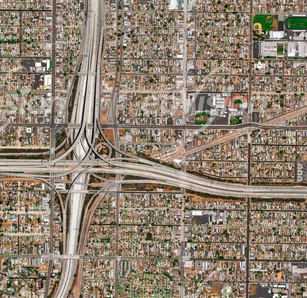 Los Angeles Verkehrsknoten
