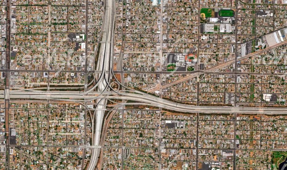 Los Angeles - Straßen, Verkehr