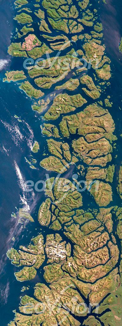 Chonos-Archipel - Inselgruppe im Süden von Chile