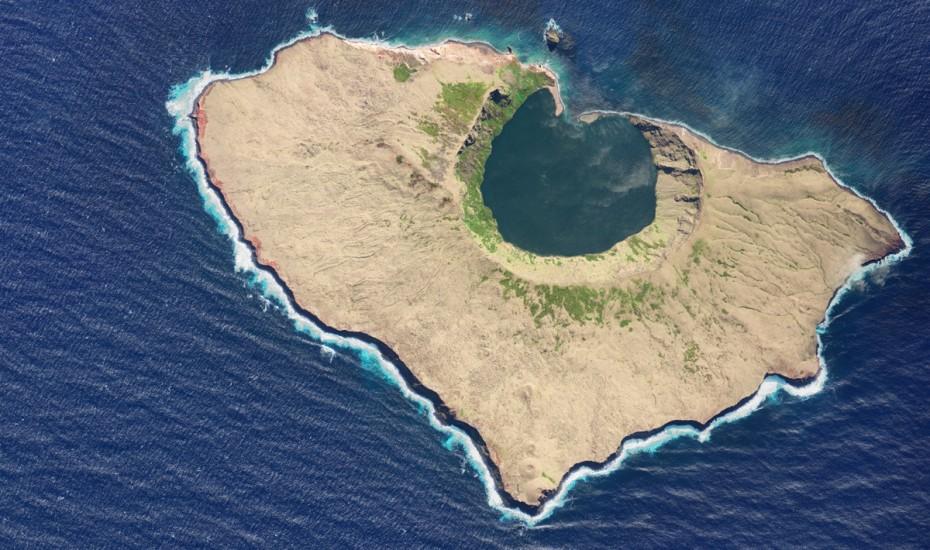 Île St. Paul - Satellitenbild